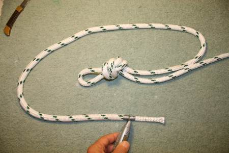 How to Eye Splice double braid rope