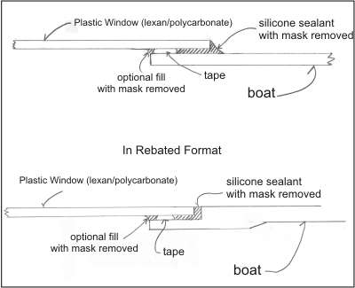 How to install boat windows and port lights